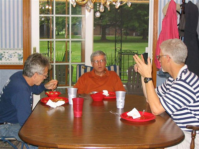 2003 Team Dinner - Lakes