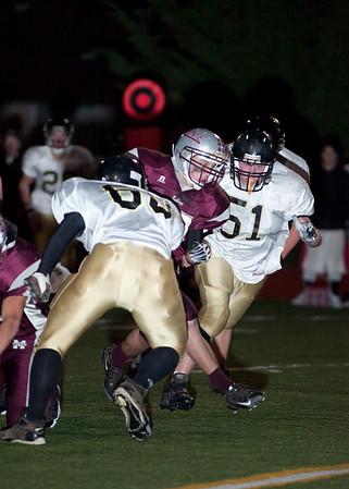 Montesano HS vs. Meridian HS, varsity, November 14, 2009, played in Tumwater