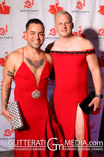 2021-09-18 - Red Dress Party San Diego
