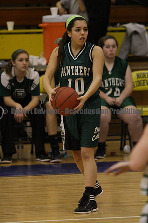 NR Girls Basketball vs EC 02/01/12