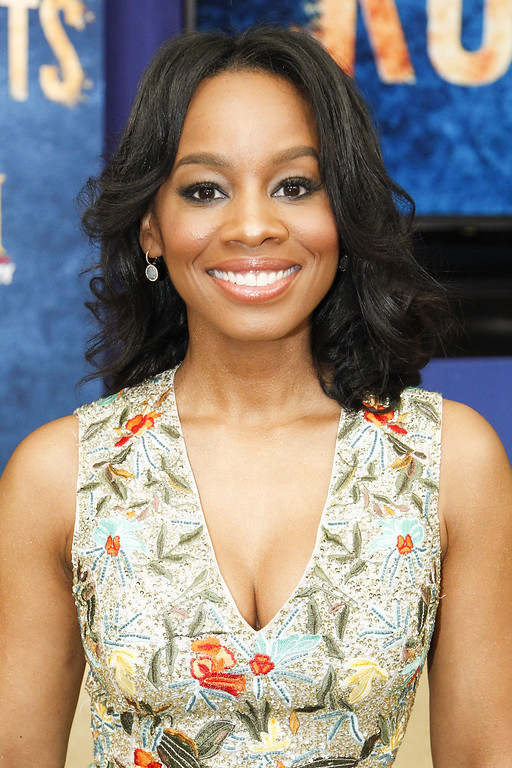 ". Actress Anika Noni Rose attends the ""HISTORY Brings \""Roots\"" Cast And Crew To The White House For Screening\"" at the Eisenhower Executive Office Building on May 17, 2016 in Washington, DC. (Photo by Paul Morigi/Getty Images for History)"