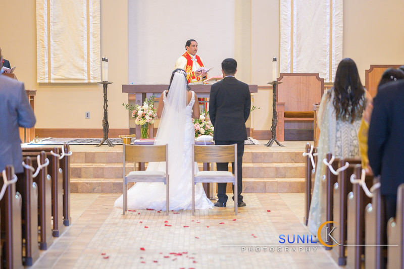 Simmy Shiju Wedding Ceremony