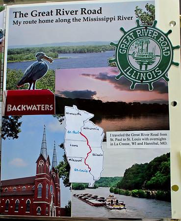 GRR Trip Scrapbook Pages