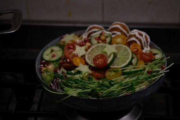 Israeli Falafel Bowl
