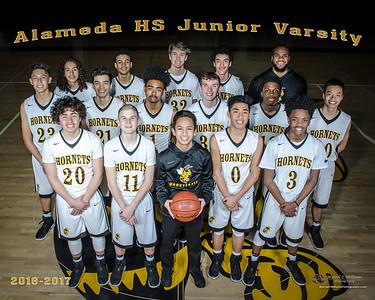 2017 Alameda High Basketball JV