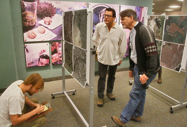 Photos: Geographic Information Systems event features maps and images