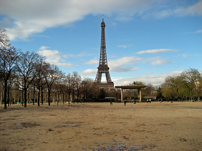 Champs de Mars and local attractions