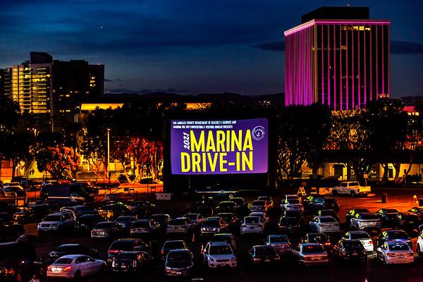 2021 Marina Drive-In Movie