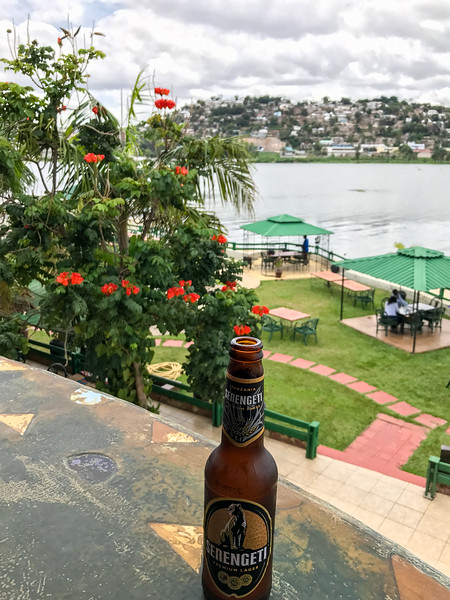 Back in Mwanza. Hotel Tilapia