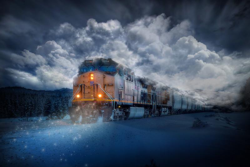 TRAINS, TRACKS & TALES