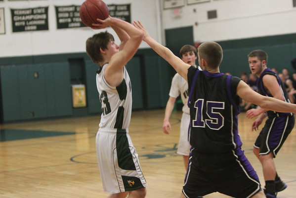 WUHS - Boys Basketball vs Oxbow, 1.13.11