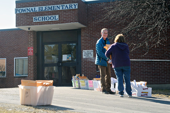 Continuity in Education packets at Pownal Elementary - 031820