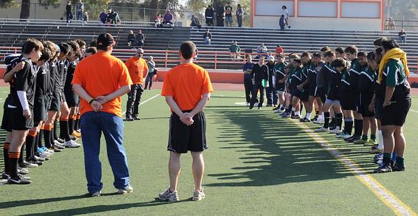 Rugby - Peninsula Green vs Los Gatos Lions - Jan 14, 2012