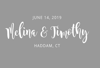 Melina & Timothy's Wedding!