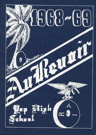 Yap High School Yearbook:  1968-1969