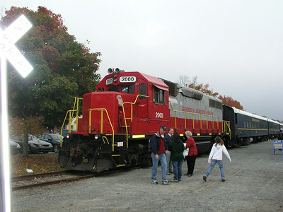 10-18 - Blue Ridge Scenic Railway - Blue Ridge, GA