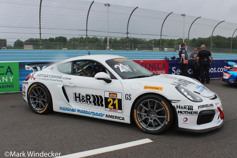 GS Muehlner Motorsports America Porsche Cayman GT4