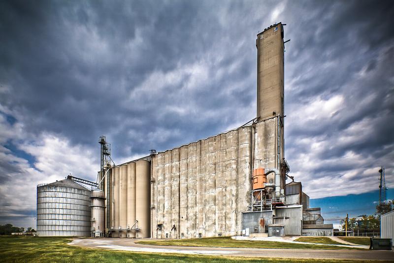 Trupointe Grain Storage in Sidney OH.