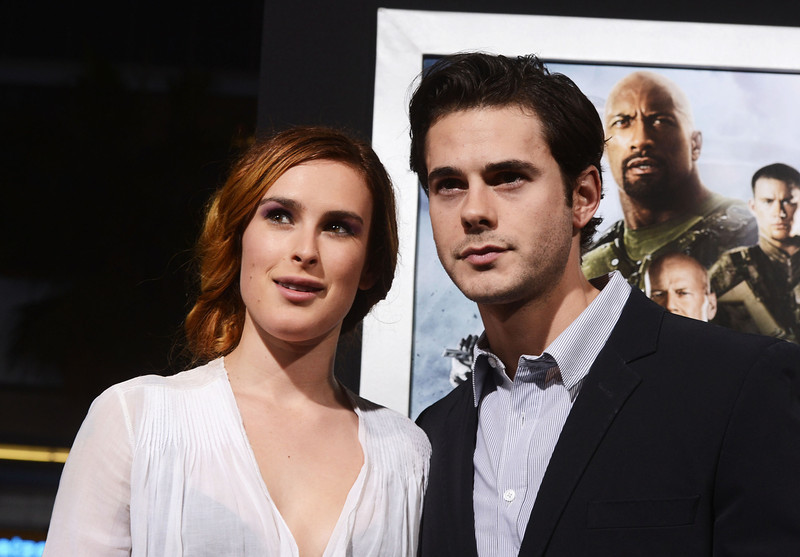 ". Actors Rumer Willis and Jayson Blair attend the premiere of Paramount Pictures\' ""G.I. Joe:Retaliation\"" at TCL Chinese Theatre on March 28, 2013 in Hollywood, California.  (Photo by Kevin Winter/Getty Images)"