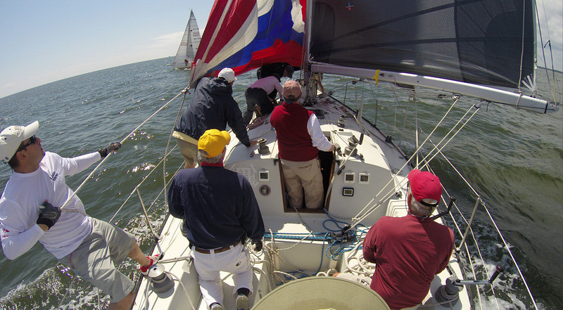 5/17 FBYC Offshore Spring Series #4  Spin take down