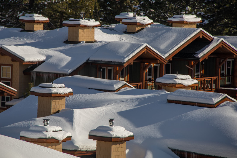 December 25 - Rooftops in the morning sun near Juniper Springs, Mammoth Lakes, California-6.jpg