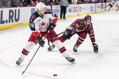 KHL World Games: Dinamo Riga - CSKA Moscow
