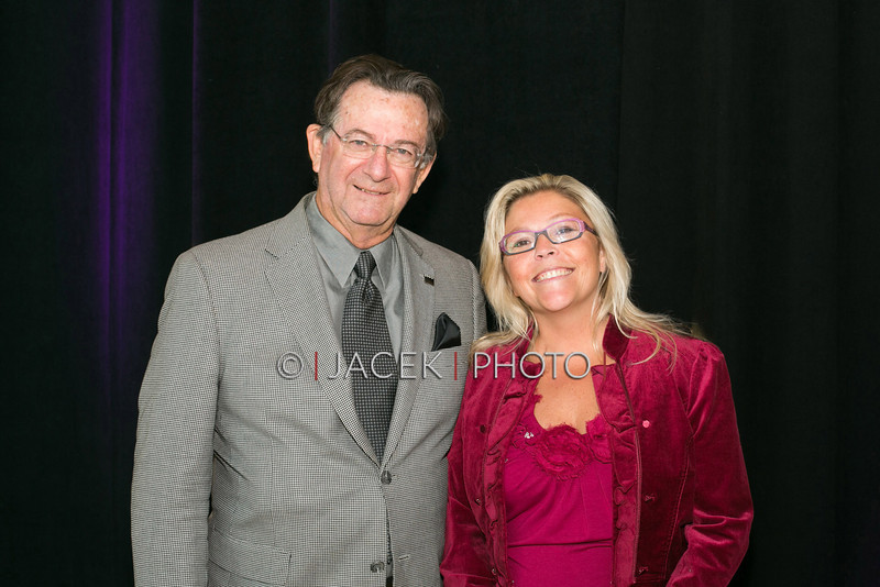 Photo Credit: Jacek Photo. Caption: L-R: Chuck Elderd, Kim Reed-Fragione  at The Cultural Council of Palm Beach County 2014 Muse Awards at The Kravis Center in West Palm Beach, Fla. on March 13, 2014.