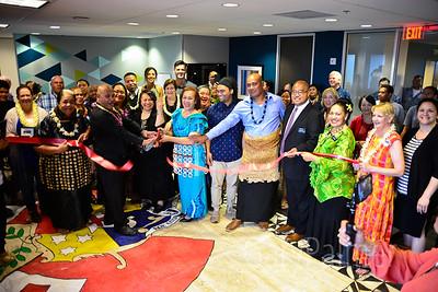 Tonga Radio Chamber Ribbon Cutting