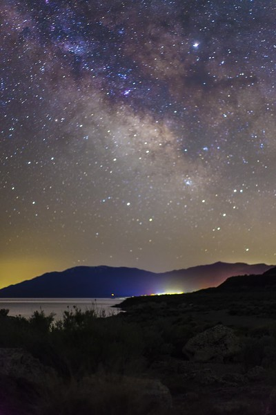 Starry Night at Pyramid Lake