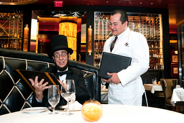 BeauRivage Abe Lincoln Promotion
