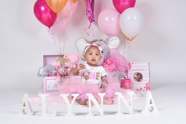 Alynna 1st Birthday