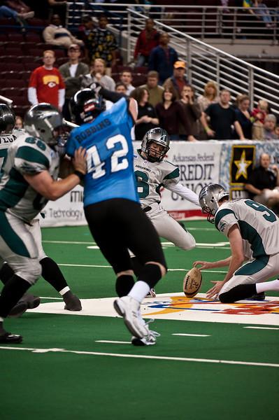 Sports-Football-Arkansas Twisters vs Bozier City 032809-21