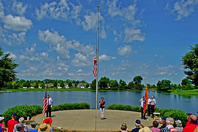 Memorial Day Observance at DWLP - May 2016
