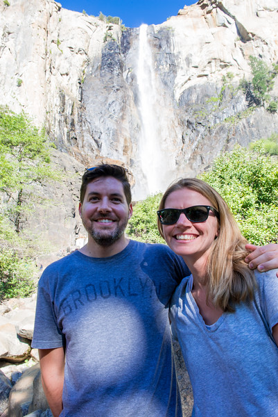 Say cheese at Bridalveil!