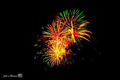Fireworks - Merrimac, WI - July 05, 2019
