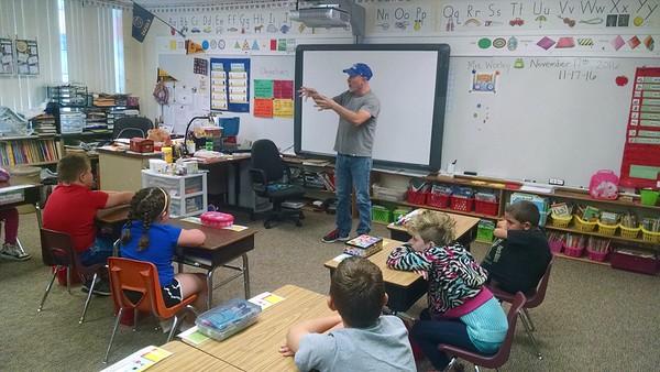 American Education Week - Mrs. Worley's Guests