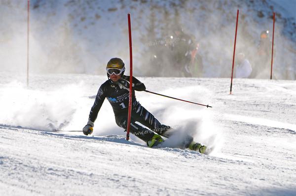2-7-13 Utah FISU SL at Loveland - Mens Run #1