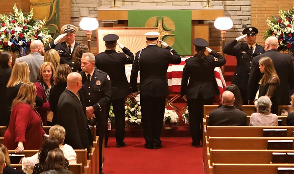 Barrington Fire Department Funeral For  Lt James Albert Feit