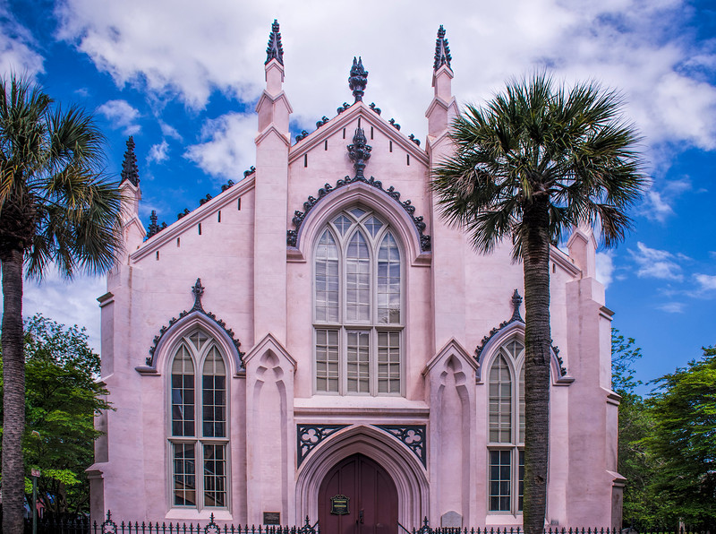 French Huguenot Church in Charleston South Carolina
