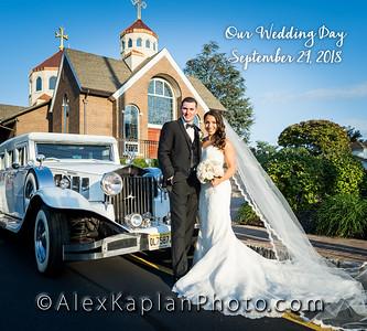 Wedding at St. Leons Armenian Church in Fairlawn, NJ & The Terrace at Bioggios in Paramus, NJ