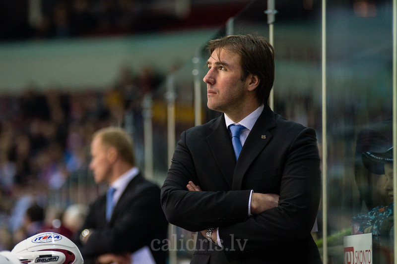 Assistant coach of Dinamo Riga Viktors Ignatjevs