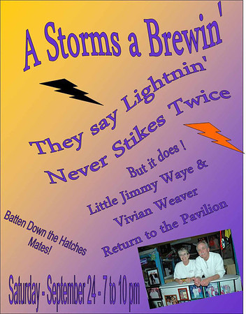 2011 - A Storm is Brewin' - Jim Waye & Vivian Weaver Play the OD Pavilion
