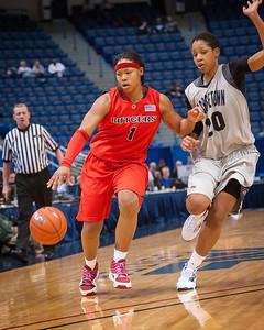 Georgetown 56 v Rutgers 63