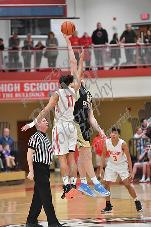 Wilson vs Berks Catholic Boys High School Basketball 2018 - 2019