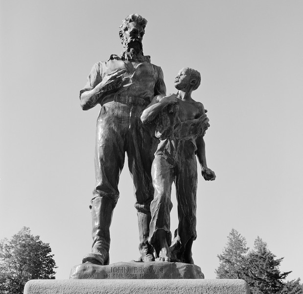 John Brown Farm and Statue, Lake Placid, NY. July 2000