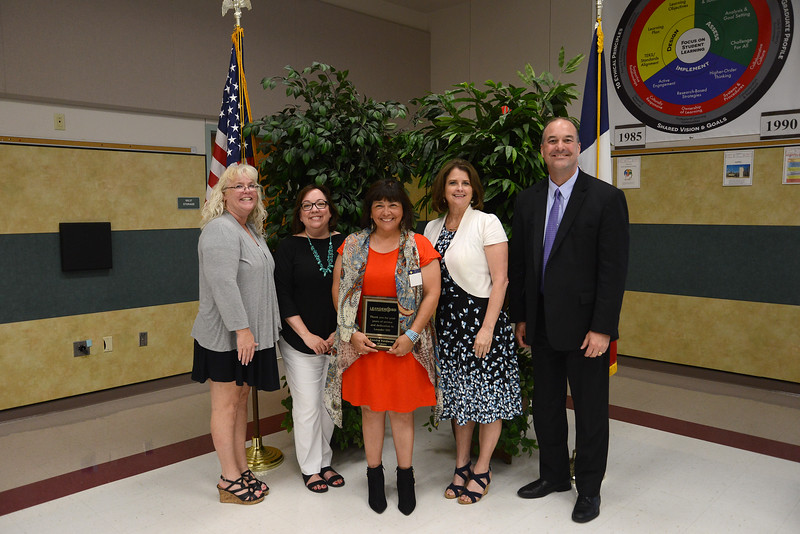 Sandra Valderaz, Block House Creek Elementary School teacher, 33 years in education and 22 years in LISD