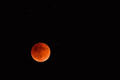 Lunar eclipse 150927