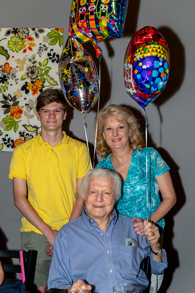 Jake Erhardt's 90th Birthday Party