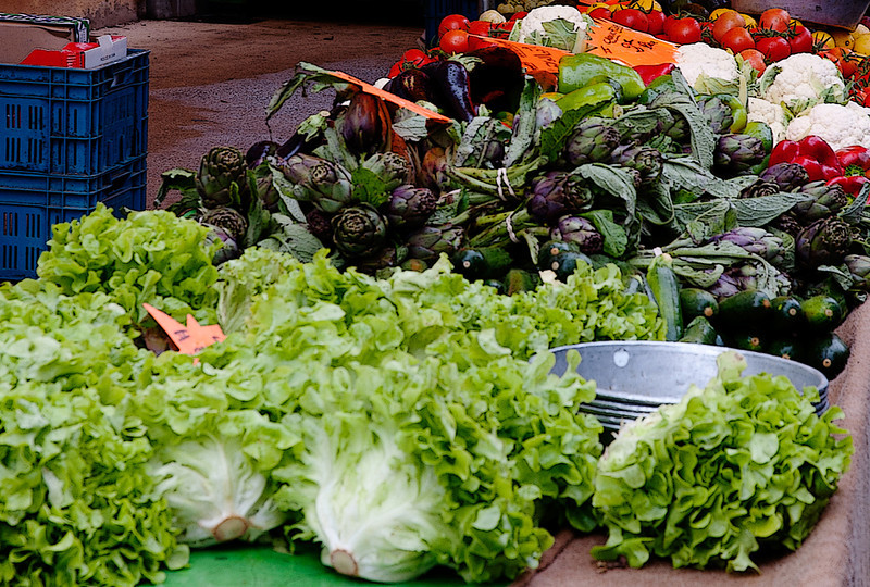market in L'Isle Sur-la-Sorgue