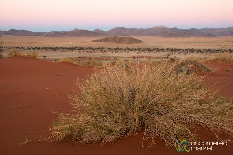 Namib Desert Colors at Dusk - South Namibia